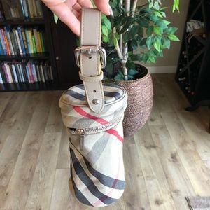 Burberry water/baby bottle handbag